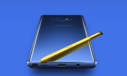 Samsung để lộ video Galaxy Note9