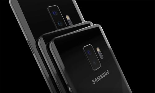 Video mô phỏng thiết kế Galaxy S10 với 6 màu sắc