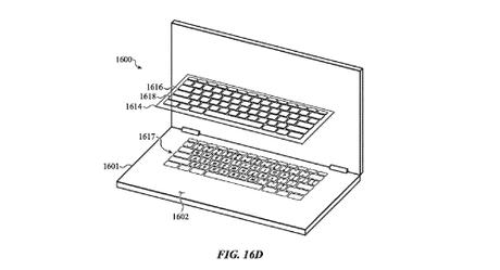 Ý tưởng bàn phím được bọc bởi một lớp màng niêm phong phía trên.