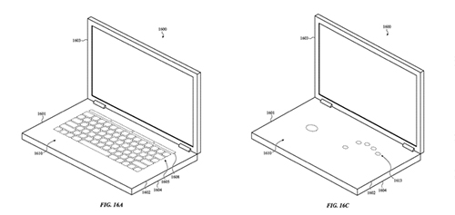 Ý tưởng về bàn phím ảo hoàn toàn, có thể tùy chỉnh giao diện.