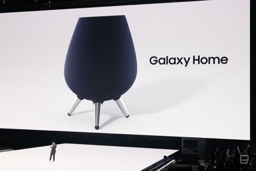 Loa thông minh Galaxy Home được giới thiệu nhanh tại sự kiện Unpacked 2018.