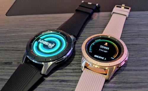 Galaxy Watch bổ sung thêm nhiều chức năng theo dõi sức khỏe và tập luyện. Ảnh: AndroidCentral
