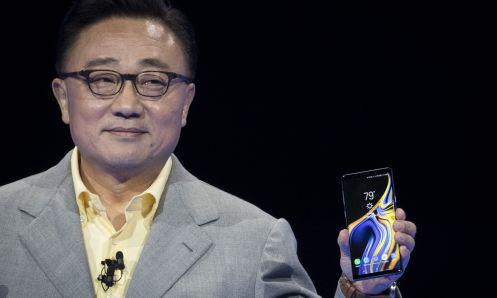 DJ Koh, chủ tịch kiêm giám đốc điều hành Samsung Electronics.