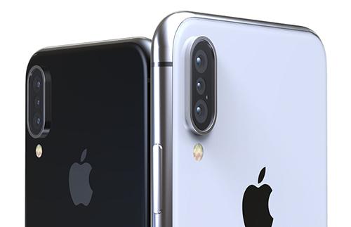 Apple có thể trang bị cho iPhone camera ba ống kính vào năm 2019.