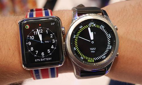 Apple Watch dẫn đầu thị trường thiết bị đeo thông minh