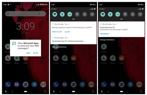 Tính năng mớiđòi hỏi cài thêm ứng dụng trên điện thoại Android.