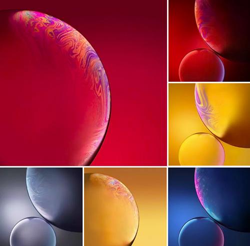 Một số hình nền cho iPhone Xr.