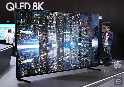 TV 8K bắt đầu được Samsung bán ra với giá 15.000 USD.