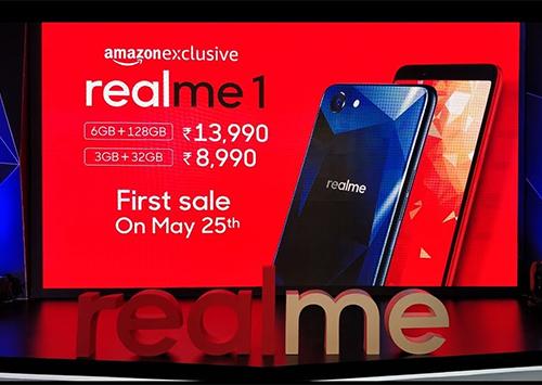 Realme bán qua các kênh trực tuyến để giảm chi phí trung gian tại Ấn Độ.