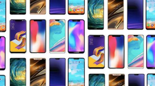 Rất nhiều smartphone Android hiện nay đều có tai thỏ tương tự iPhone X.