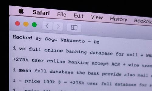 Website ngân hàng Hợp tác xã Việt Nam bị tấn công đòi tiền chuộc