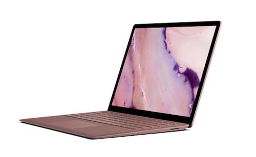 Surface Laptop 2 màu hồng bán độc quyền tại Trung Quốc.
