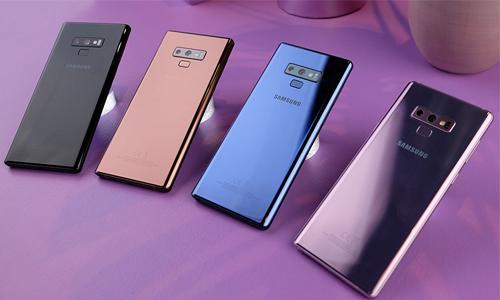 Galaxy Note9 bán chạy hơn S9 nhưng chậm hơn Note8 tại Hàn Quốc