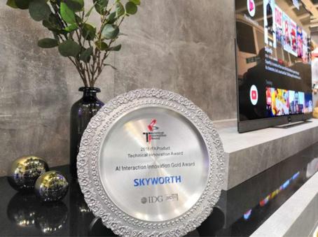 Tháng 8/2018, hãng tivi Hong Kong Skyworth giành được giải thưởng Vàng Sáng tạo tương tác AI tại IFA 2018.