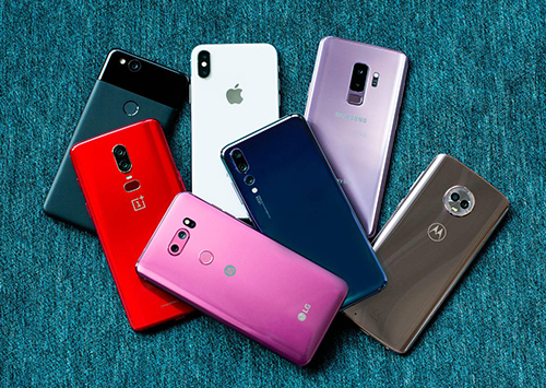 Các hãng smartphone Android đã sẵn sàng tung ra sản phẩm 5G.
