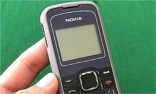 Chiếc Nokia 1202 đầu tiên của độc giả Phước Tài.