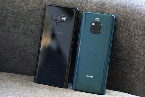 Doanh số smartphone quý III/2018 của Samsung đi xuống còn Huawei tăng mạnh.