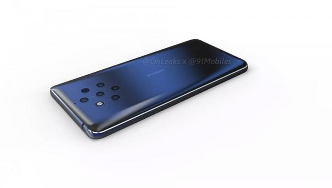Nokia 9 lộ diện với camera 5 ống kính