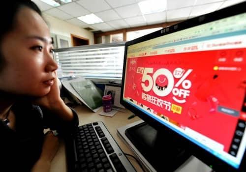 Ngày lễ độc thân có doanh số bán ra thường vượt Black Friday và Cyber Monday gộp lại. Ảnh: Weibo.