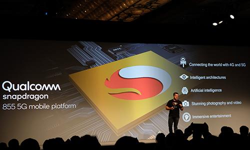 Các smartphone hỗ trợ 5G sẽ được thương mại trong năm 2019. Ảnh: Đình Nam.