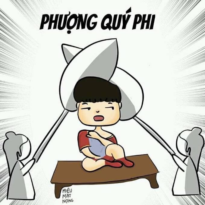 Quang Hải, Công Phượng thành đề tài chế ảnh trên mạng