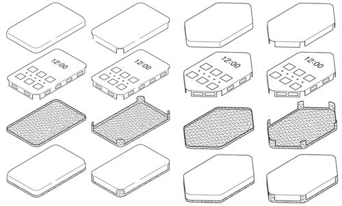 Smartphone trong hồ sơ của Samsung.