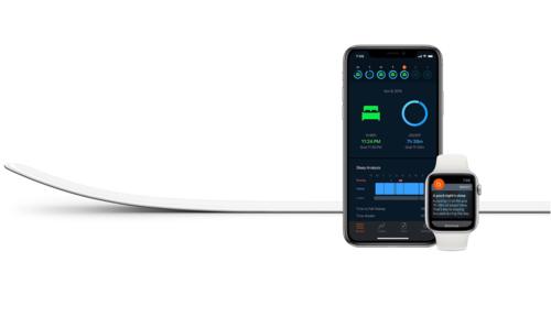 Beddit Sleep Monitor giải quyết hạn chế của Apple Watch là thiếu tính năng theo dõi giấc ngủ.