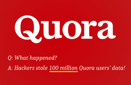 100 triệu người dùng mảng hỏi đáp nổi tiếng Quora bị lấy dữ liệu.