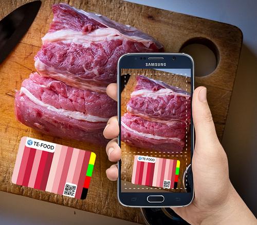 Ứng dụng Te-food giúp người dùng dễ dàng nhận diện được nguồn gốc các loại thịt.