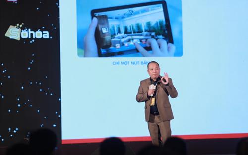 Ông Vũ Thanh Thắng, phó chủ tịch Bkav, chia sẻ tại Hội thảo Smart Tech for Smart Living.