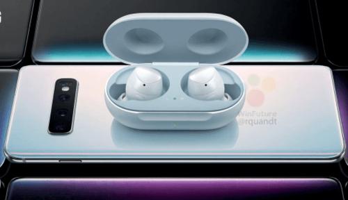 Đèn LED sáng cho thấy chiếc tai nghe đang được sạc không dây từ smartphone. Ảnh WinFuture