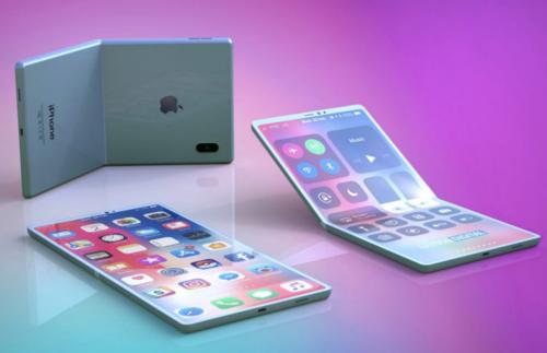Apple sẽ sớm ra iPhone màn hình gập giống Samsung - Ảnh 2