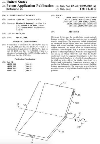 Apple sẽ sớm ra iPhone màn hình gập giống Samsung - Ảnh 1