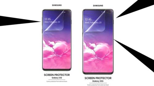 Samsung dán sẵn lớp bảo vệ màn hình cho Galaxy S10 và S10+