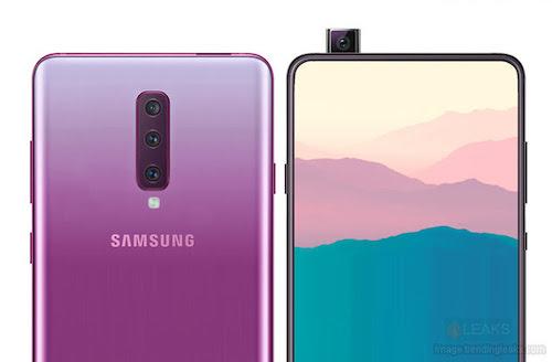 Samsung sắp ra Galaxy A90 với camera 'thò thụt' 48 megapixel - Ảnh 1