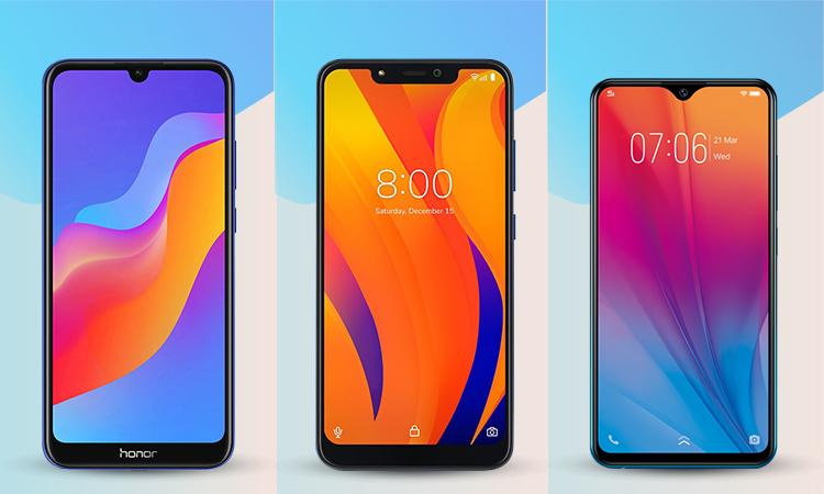 Smartphone Honor, Vsmart và Vivo giá rẻ đọ sức
