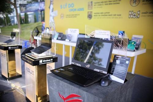 Các thiết bị mới nhất của Asus được giới thiệu tại sự kiện.