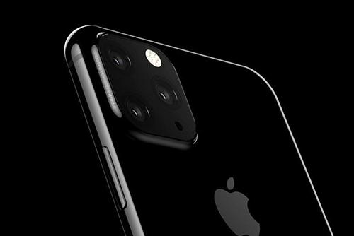 Hình dung về iPhone 2019 dựa trên thông tin rò rỉ. Ảnh: OnLeaks