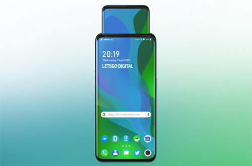 Ý tưởng smartphone màn hình thò thụt của Oppo - 1