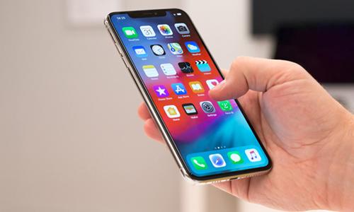 Apple đi sau các nhà sản xuất Android trong cuộc đua 5G. Ảnh: BGR