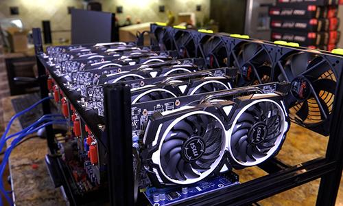 Máy đào tiền ảo thường sử dụng lượng điện rất lớn. Ảnh: Bitcoinist