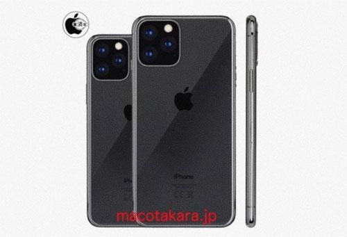 iPhone 2019 sẽ có tới 5 phiên bản - Ảnh 1