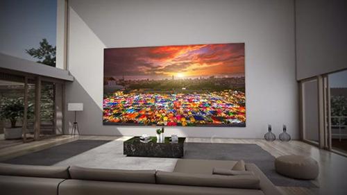 The Wall, dòng màn hình microLED kích thước lớn của Samsung.