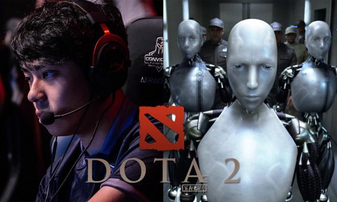AI đánh bại đội game DOTA 2 giỏi nhất thế giới