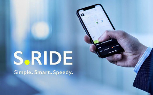 Ứng dụng gọi xe của Sony có tên S.Ride.
