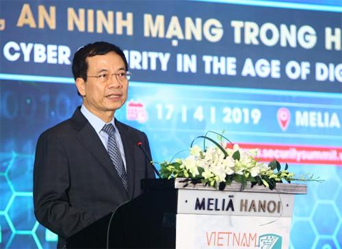 Bộ trưởng Nguyễn Mạnh Hùng: 'Việt Nam có thể thành cường quốc an ninh mạng'