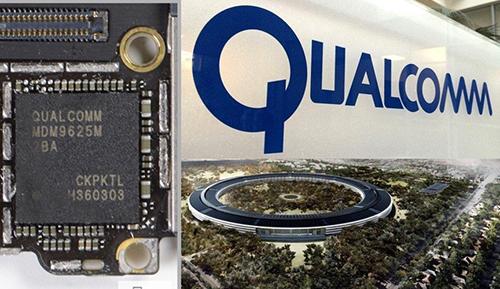 Apple có thể quay lại dùng chip mạng của Qualcomm trong tương lai. Ảnh: 9to5mac.