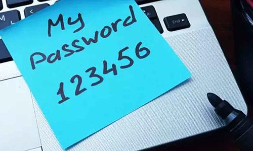 Hàng triệu người vẫn cảm thấy phiền phức và lựa chọn các mật khẩu đơn giản như 123456.