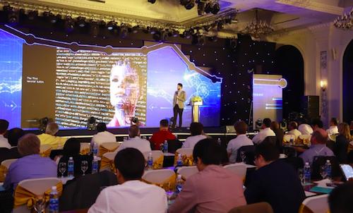 Hội nghị Global Digital Transformation thu hút nhiều đại diện các công ty hàng đầu thế giới.