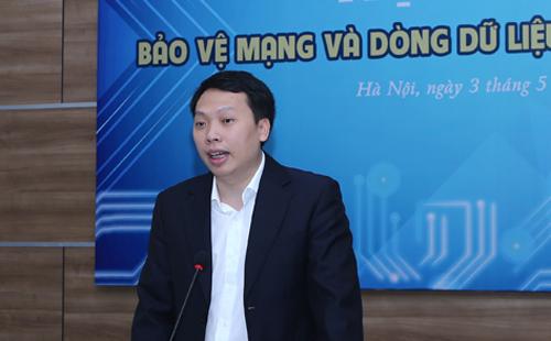 Ông Nguyễn Huy Dũng, Quyền Cục trưởng Cục An toàn Thông tin.